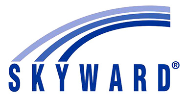 Skyward logo with link to website